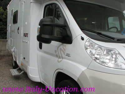 Italy-Vacation  Motorhome - Your best Vacation to Italy . info , tips for your RV holiday caravan