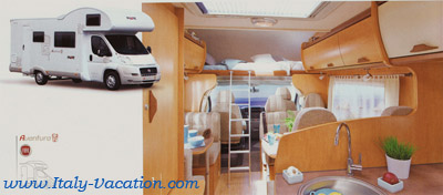 Italy-Vacation  Motorhome - Milano Pilote Aventura ,Your best Vacation to Italy . info , tips for your RV holiday caravan