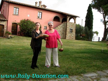 Az. IL Querciolli Italy vacation Agriturismo Farm Vacation House , Toscana ,  Tuscany & Umbria