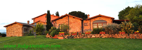 Az. IL Querciollo Italy vacation Agriturismo Farm Vacation House , Toscana , Tuscany & Umbria