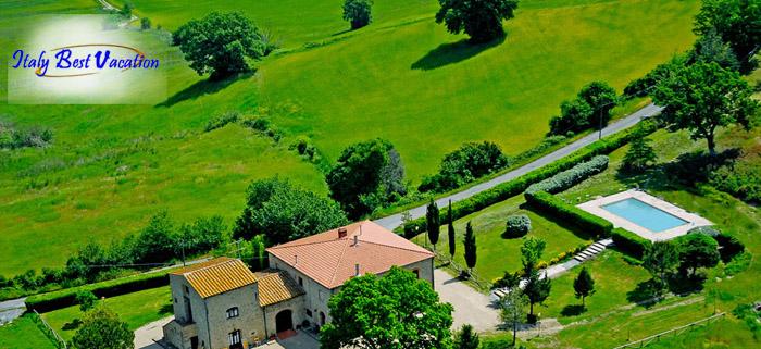Italy-Vacation -  Farmhouse S. Elisa - Toscana.  Volterra 18km ,San Gimignano 45km