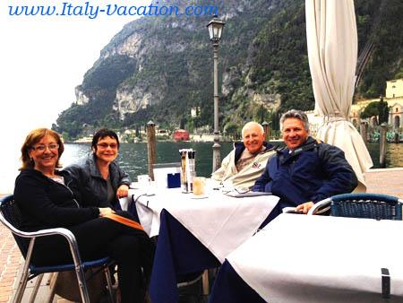 Garda Agriturismo Farm-Salo.     our guests on the Garda lake