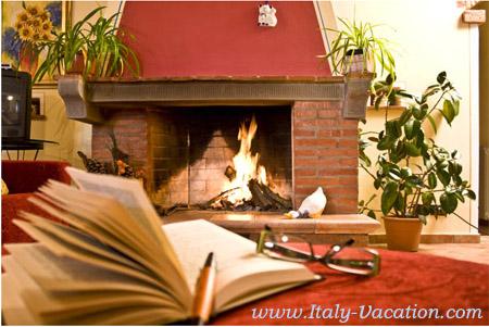 Italy Vacation - Rose Di Barbara  room