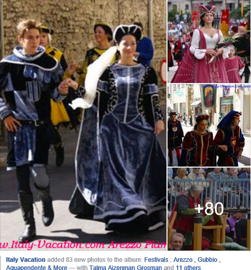Best Festivals Toscana / Umbria : Arezzo , Gubbio , Aquapendente & More on Facebook