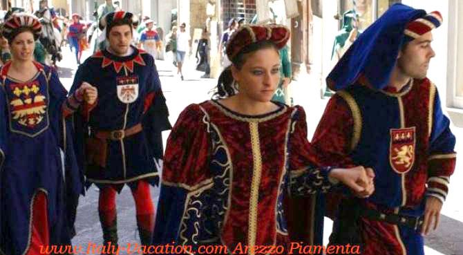 La Quieto Toscana .you can visit Arezzo and  Festival sansepolcro