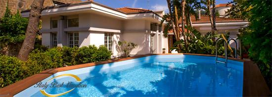 Villa il Gioiello pool - Luxury Villa in Sorrento