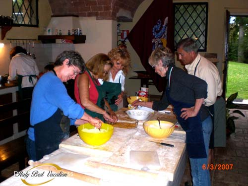 ✡ Fiorentini's  fattoria - cooking classes in the Agriturismo near Siena