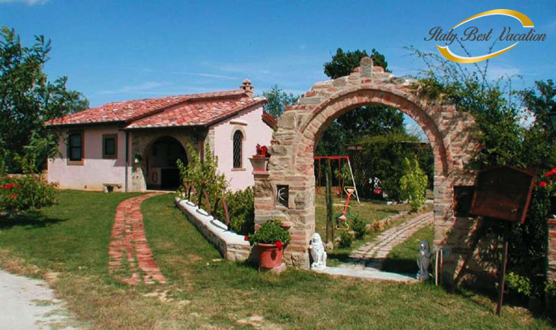 Agr. la Gabole – Italy vacation .  Agriturismo  rel farmhouse with pool  .  vacation house, villa  in Toscana , Umbria