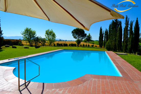 Italy-Vacation ,   Agri Canta Toscana  pool